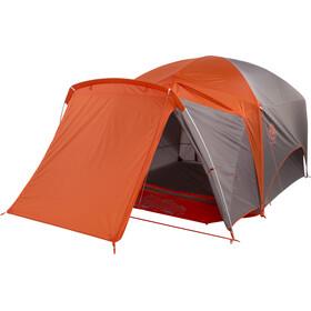 Big Agnes Big House 4 Tent, grijs/oranje
